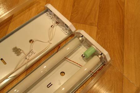 Люминисцентные светильники для рассады