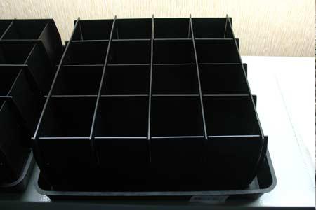 Большие пластиковые кассеты для рассады