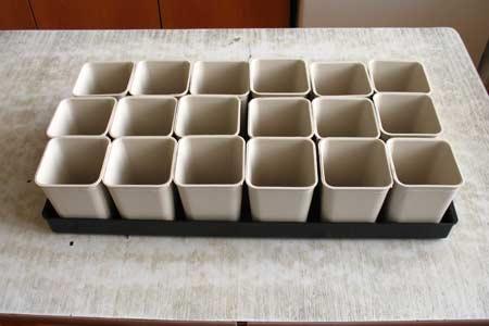 Пластиковые стаканчики для рассады